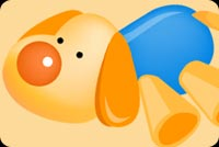 Cute Dog Stuffed Toy Stationery, Backgrounds