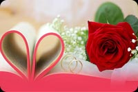 Rose, Love Rings, Happy Wedding Anniversary Stationery, Backgrounds