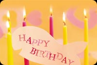 Yellow And Pink Birthday Candles Stationery, Backgrounds
