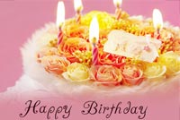 Birthday Cake For Lover Stationery, Backgrounds
