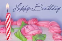Birthday Cake For Lovely Girl Stationery, Backgrounds