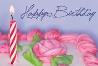 Birthday Cake For Lovely Girl Stationery, Backgrounds