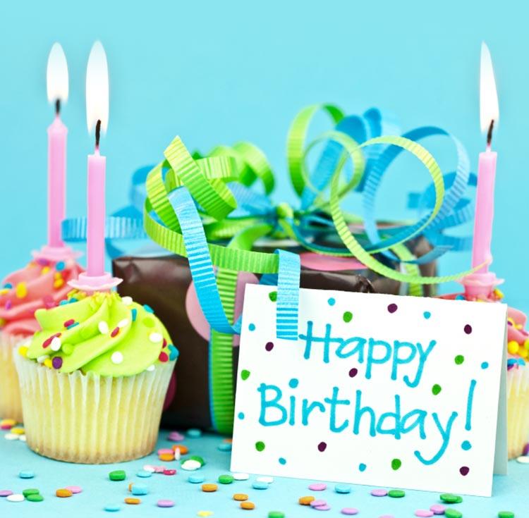 Birthday Email Stationery Stationary Baby Blue Wishes
