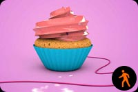 Cupcake By Sayitwithps Stationery, Backgrounds