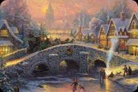 Spirit Of Christmas Stationery, Backgrounds
