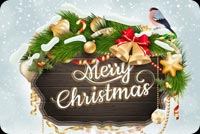 Best Wishes For Christmas Stationery, Backgrounds