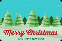 Merry Christmas Holiday Season Stationery, Backgrounds
