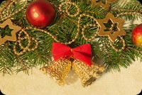 Warm Christmas Wishes For You Stationery, Backgrounds