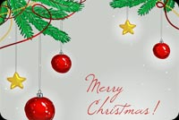 A Very Merry Christmas! Stationery, Backgrounds
