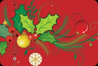Joyful Christmas Wishes! Stationery, Backgrounds