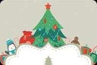 Merry Christmas! Happy New Year! Stationery, Backgrounds