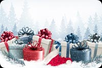 Special Christmas Gifts Stationery, Backgrounds