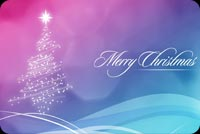 Pastel And Silver Christmas Greeting Stationery, Backgrounds