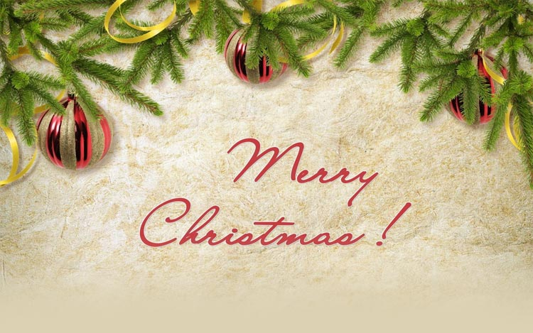 christmas email stationery stationary merry christmas gold and red decors - Merry Christmas Email