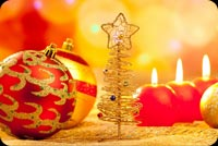 Gold Christmas Tree With Star Stationery, Backgrounds