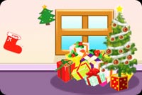 Christmas Tree With Gifts Stationery, Backgrounds