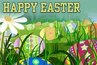 Happy Easter Everyone Stationery, Backgrounds