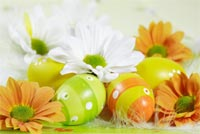 Easter Symbol Stationery, Backgrounds
