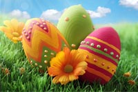 Happy Easter Sunday Stationery, Backgrounds