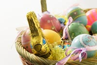 Gift Basket For A Happy Easter! Stationery, Backgrounds