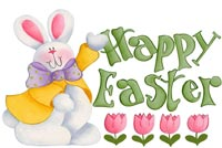 Wonderful Easter Wish Stationery, Backgrounds