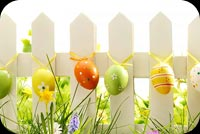 Beautiful Easter Card Stationery, Backgrounds