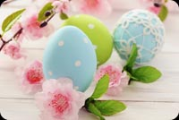 Wish A Happy Easter To Someone Special  Stationery, Backgrounds