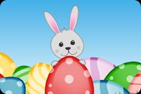 Springing Easter Wishes Stationery, Backgrounds