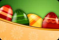 Easter Eggs Theme Stationery, Backgrounds