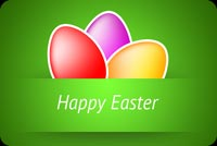 Warm And Beautiful Easter Wishes Stationery, Backgrounds