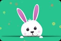 Is It The Easter Bunny? Stationery, Backgrounds