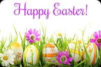 Happy Easter And Happy Spring Stationery, Backgrounds