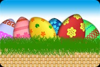 Wish A Happy Easter With This Card Stationery, Backgrounds