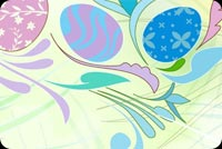 Lovely Easter Background Stationery, Backgrounds