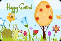 Bright Spring And Happy Easter Stationery, Backgrounds