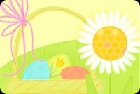 Easter Basket Full Of Wishes Stationery, Backgrounds