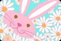 Easter email stationery. Hope Easter Makes You So Happy