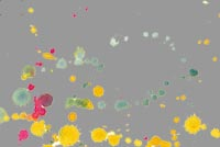 Art, Colorful Splatter Stationery, Backgrounds