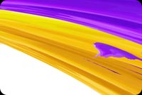 Purple Yellow Watercolor Paint Stationery, Backgrounds