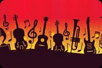 I Love Music Stationery, Backgrounds