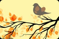 Fall autumn email stationery. Happy Autumn My Friend!