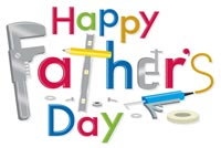 Happy Father's Day Stationery, Backgrounds