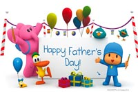 Father's Day Wishes Stationery, Backgrounds