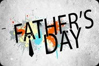 Father's Day Wordart Stationery, Backgrounds