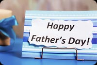 Happy Father's Day Note Stationery, Backgrounds