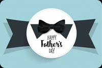 Father's Day Black Bow Tie Stationery, Backgrounds