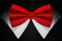 Red Bow Tie Stationery, Backgrounds