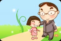 Father And Daugther Love Stationery, Backgrounds