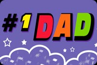 #1 Dad Stationery, Backgrounds