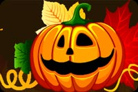 Happy Jack-o-lantern Stationery, Backgrounds